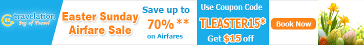 Easter Travel Deals. Book Now and Get Flat $15 Off.