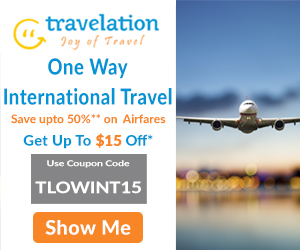 Cheap One Way International Flights. Book Now and Get Up To $15 Off*.