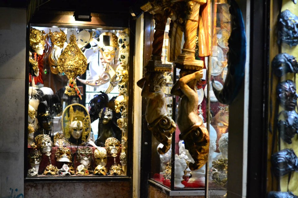 Venetian masks and crafts, Venice