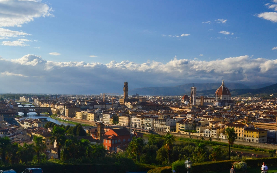 View of Florence from Piazzale Michaelangelo