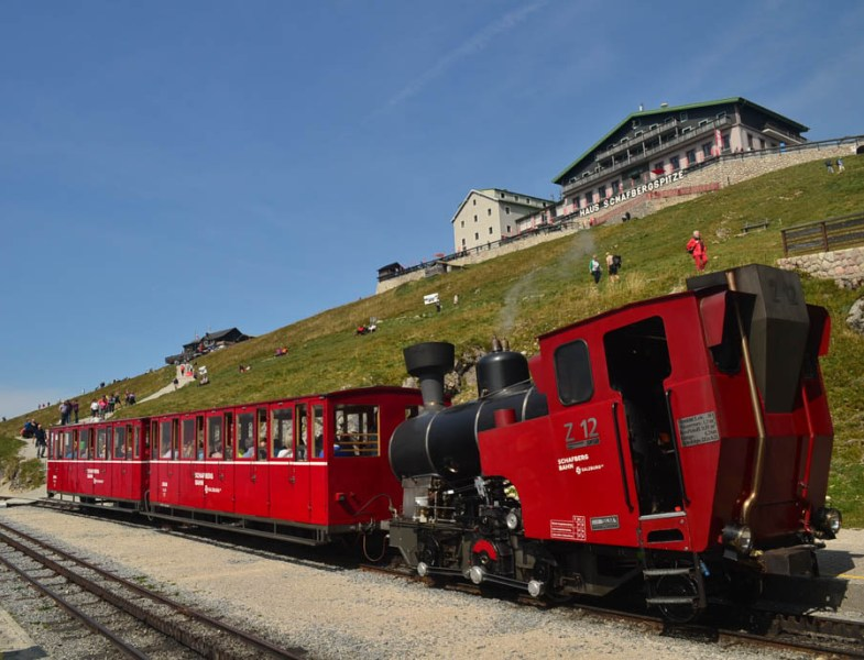 What to expect on a ride up the Schafberg Mountain Railway