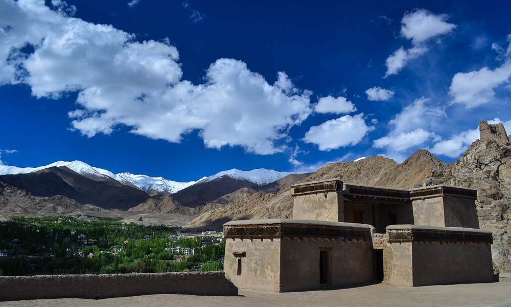 Roof of Leh palace