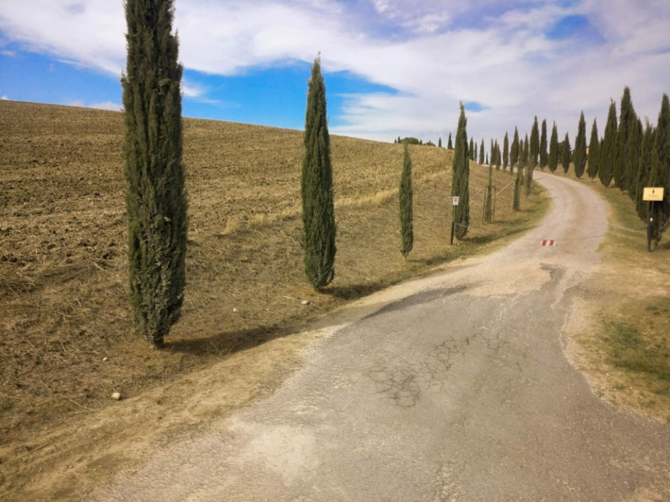 Quintessential Tuscan countryside