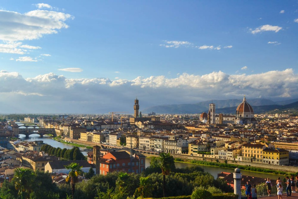 Evening at Florence
