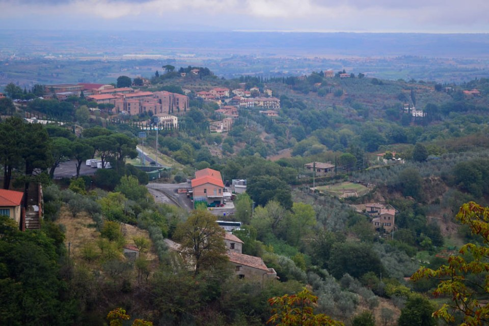 Montepulciano in Italy
