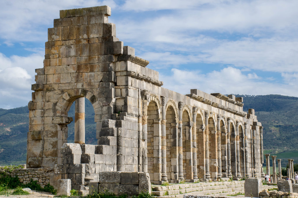 A Tour Down Hedonism Lane In Volubilis Morocco Travel