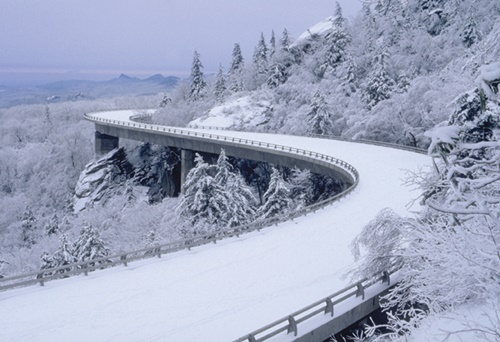 Snow on the Blue Ridge Parkway