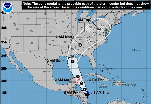 Hurricane Nate Closes Portions of BRP