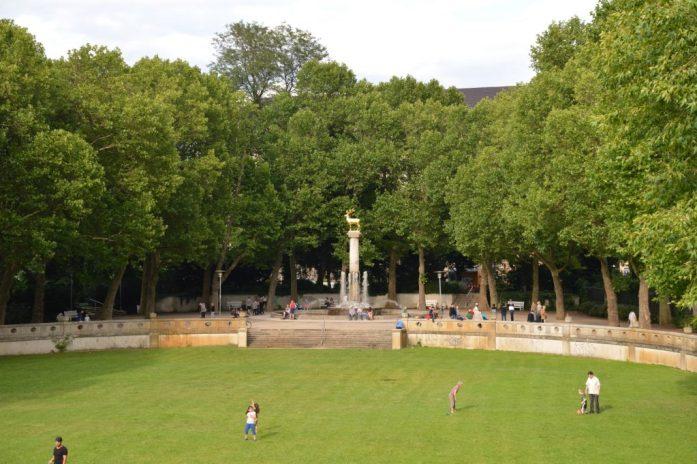 Rudolph-Wilde Park, Schöneberg, Berlin, Germany