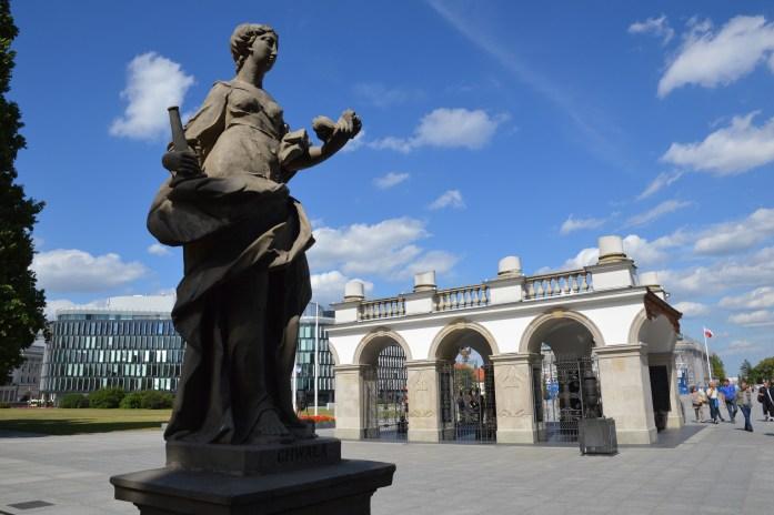 Saski Park, Tomb of the Unknown Soldier, Warsaw, Poland
