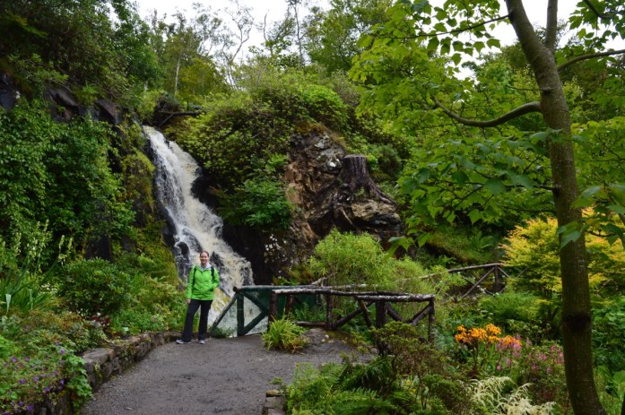 Dunvegan Castle gardens, Isle of Skye, Scotland