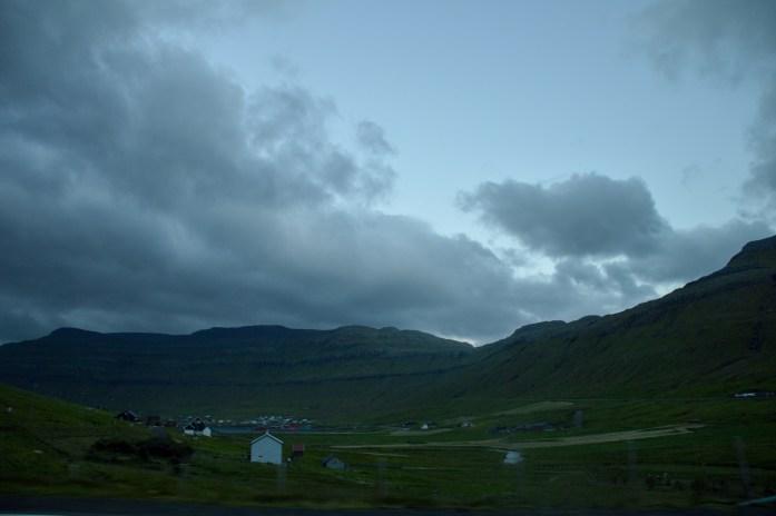 Drive to Tórshavn, Faroe Islands