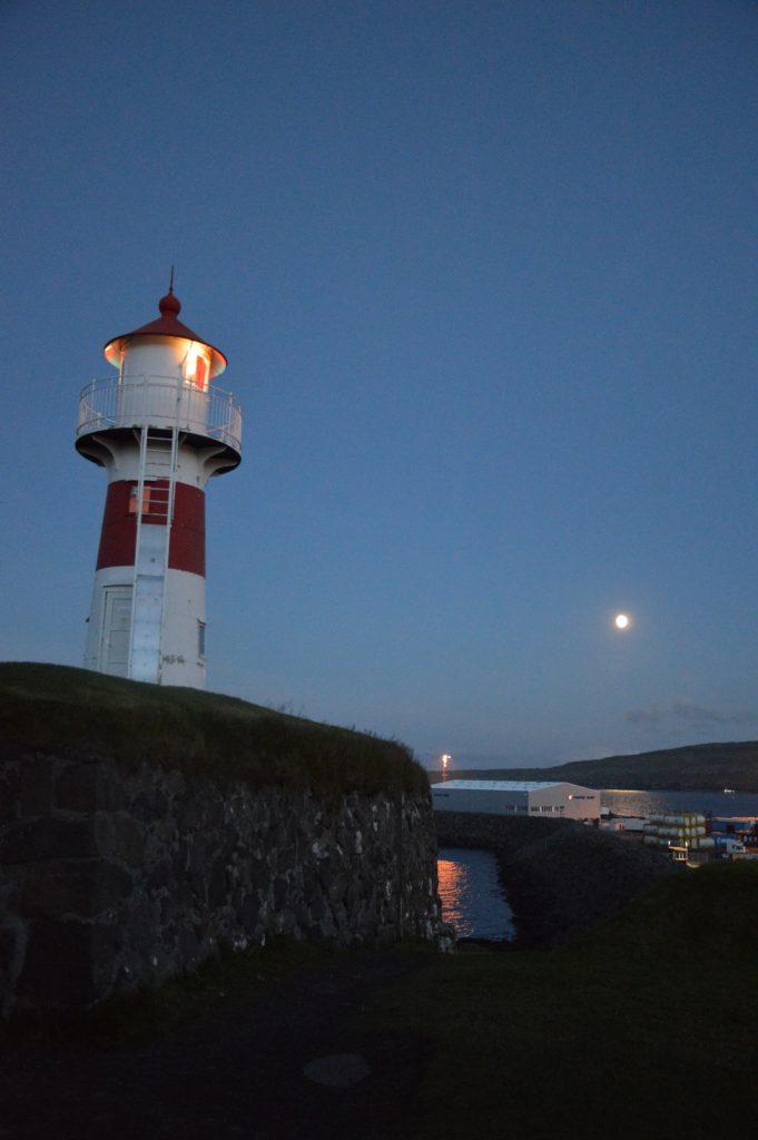 Skansin lighthouse, Tórshavn, Faroe Islands