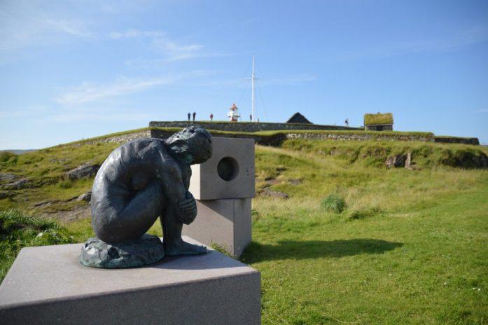 Skansin fort and lighthouse, Tórshavn, Faroe Islands