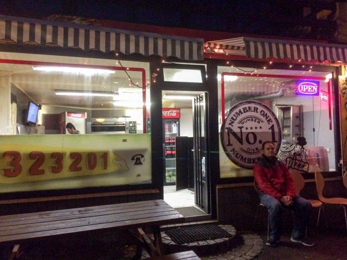 Number One Pizza in Tórshavn, Faroe Islands
