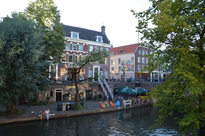 Oudegracht, Utrecht, the Netherlands