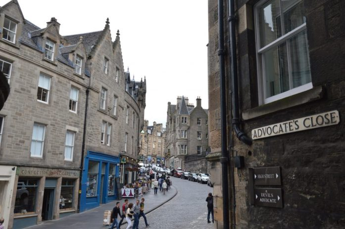 Advocate's Close, Cockburn Street, Edinburgh, Scotland