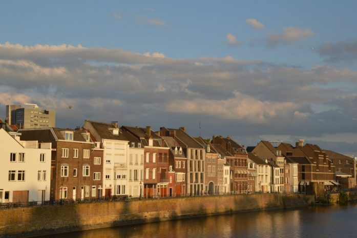 River Maas, Maastricht, the Netherlands