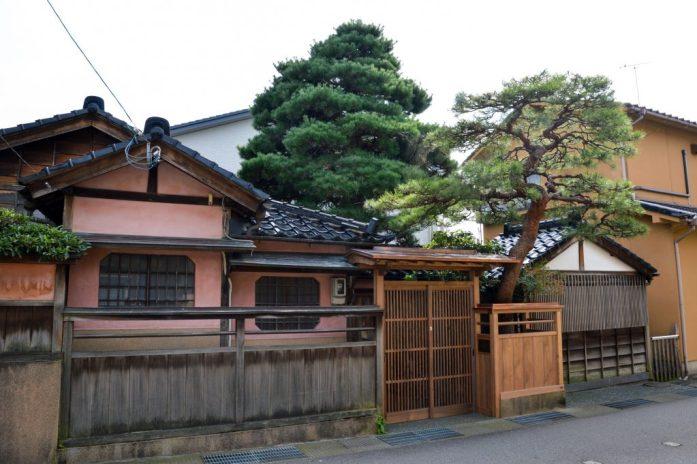 Higashiyama Higashi Chaya District, Kanazawa, Japan