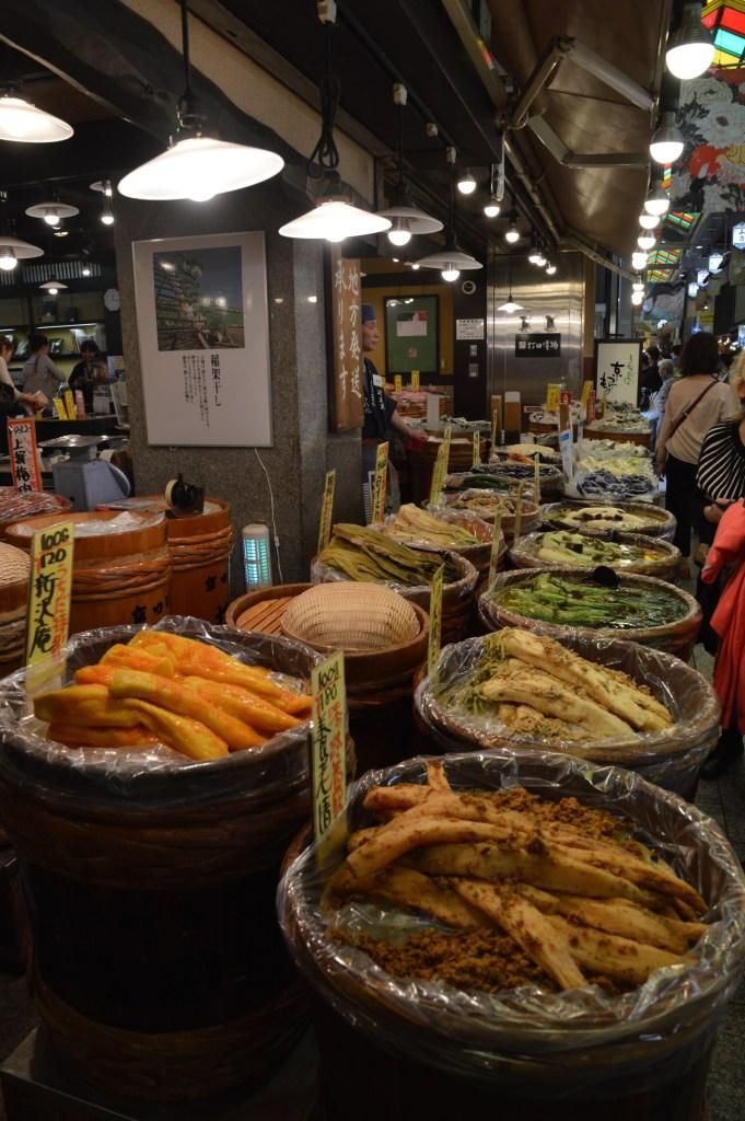 Nishiki Market, Kyoto, Japan