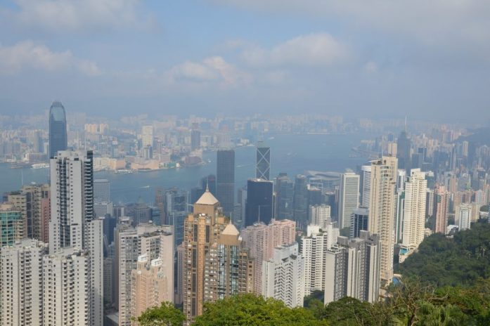 View from The Peak, Hong Kong