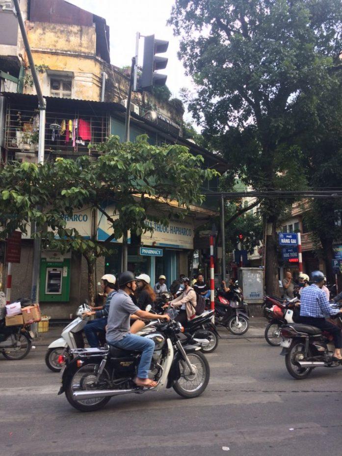 Traffic, Hanoi, Vietnam