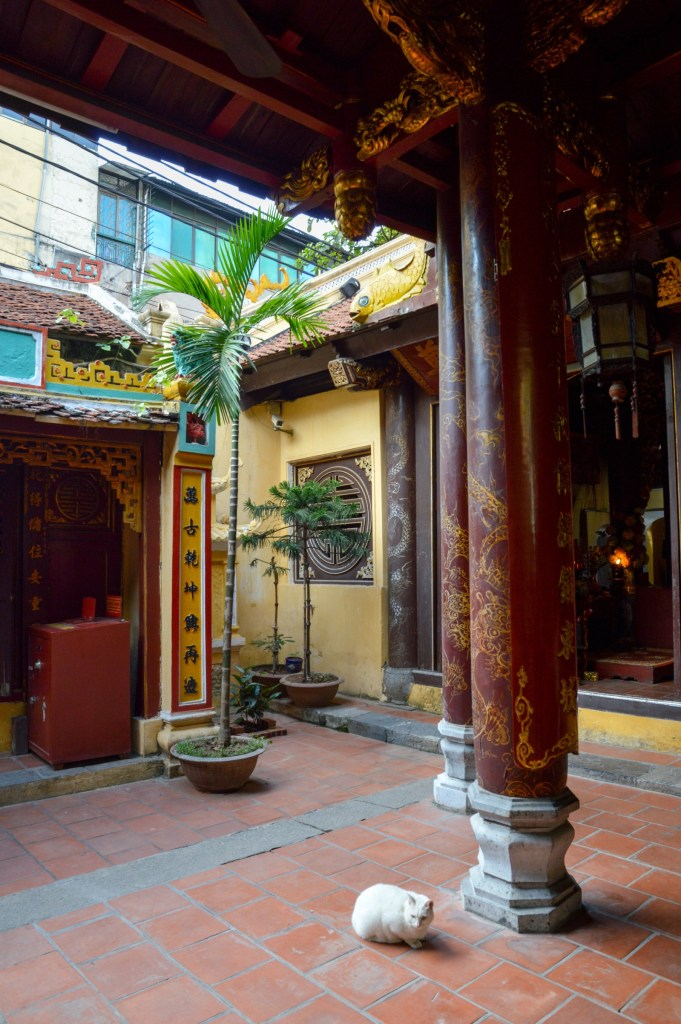 Temple in Old Quarter, Hanoi, Vietnam