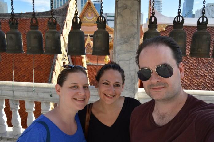At Wat Hua Lam Phong, Bangkok, Thailand