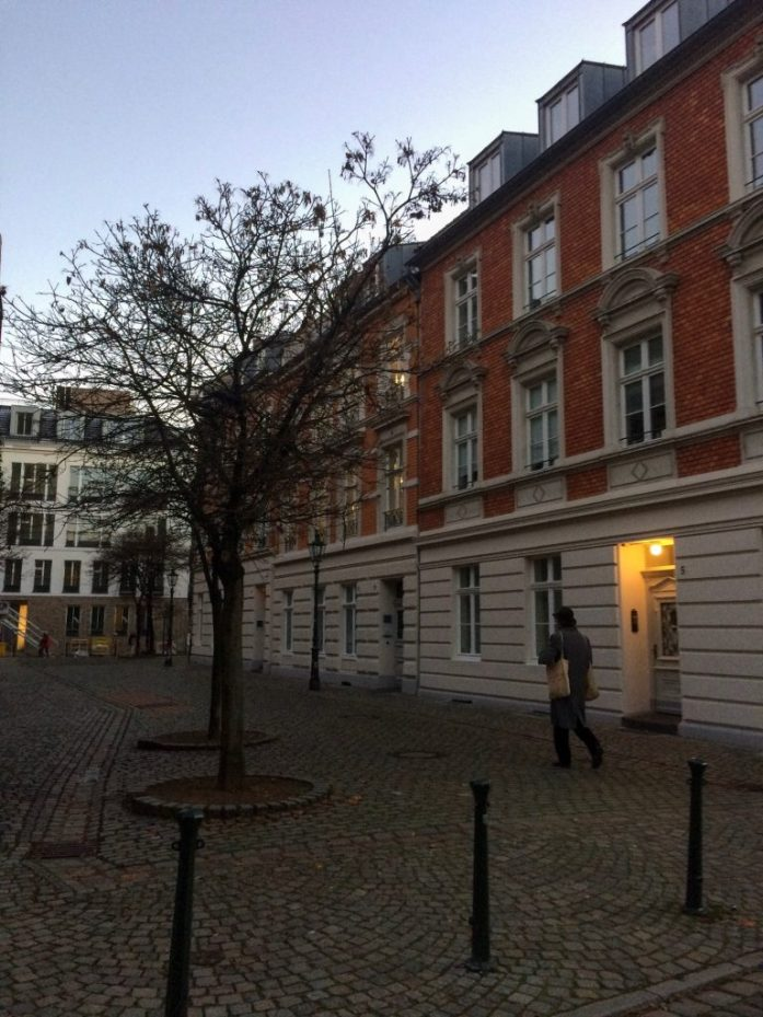 Wandering the streets of the Altstadt in Düsseldorf, Germany