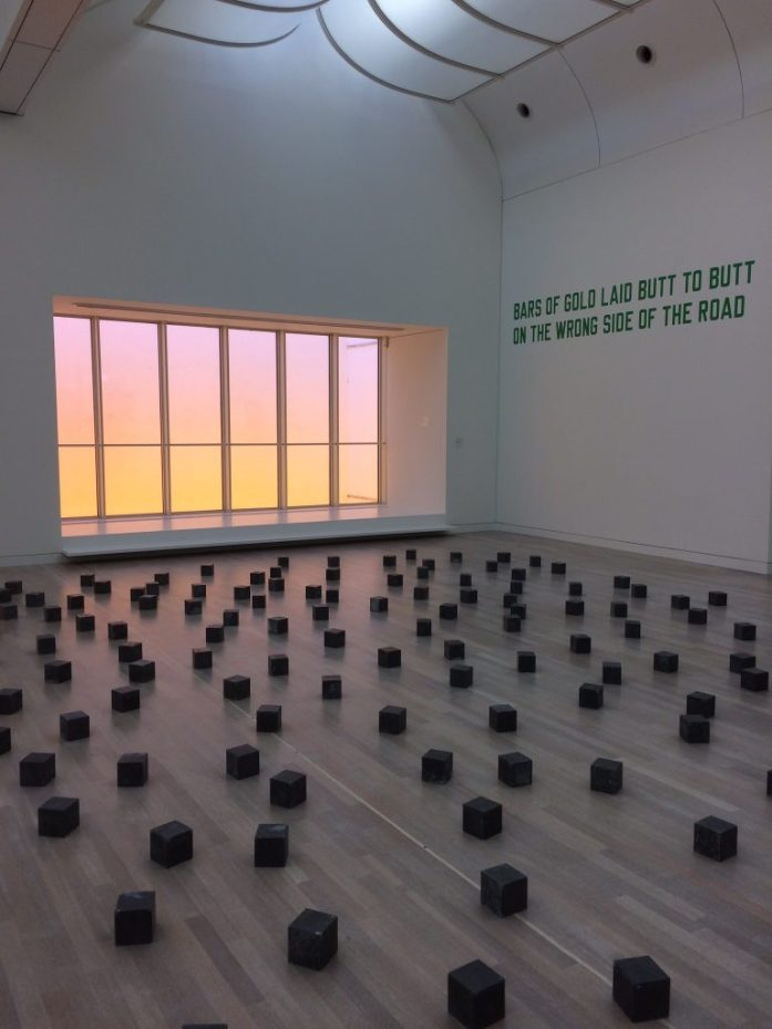 Exhibit in K20, Kunstsammlung Nordrhein-Westfalen, Düsseldorf, Germany