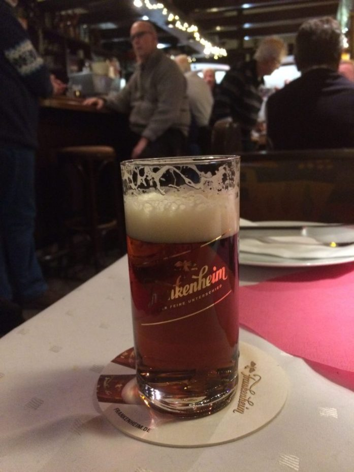 Altbier at Auf'm Hennekamp in Düsseldorf, Germany