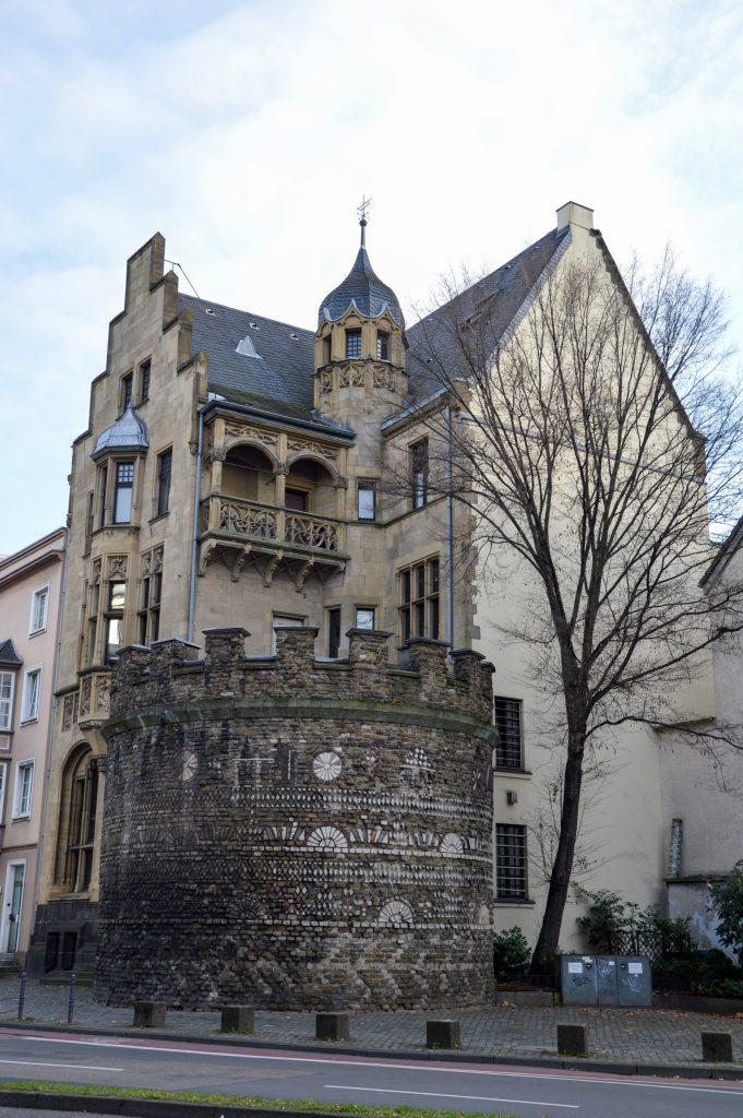 In the Belgisches Viertel in Köln, Germany