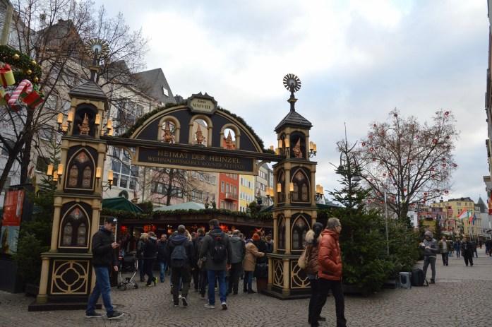 Heinzels Wintermärchen Christmas Market in Köln, Germany