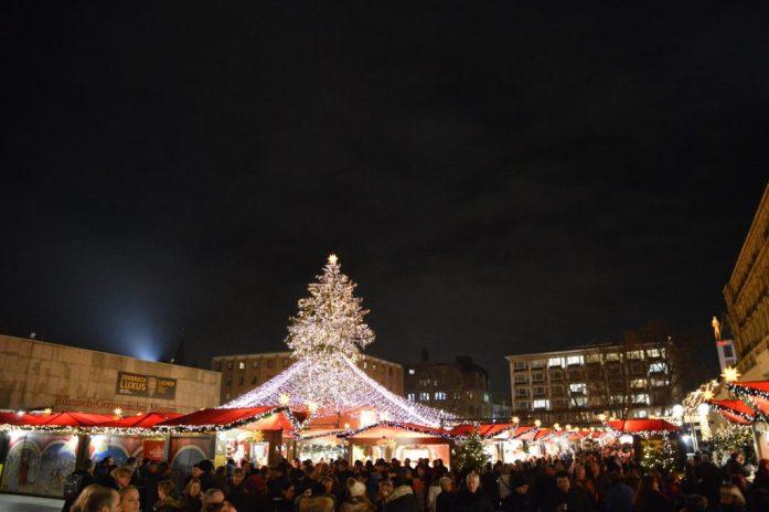 Christmas Market am Dom in Köln, Germany