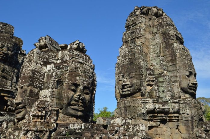 The Bayon, Angkor Archaeological Park, Cambodia