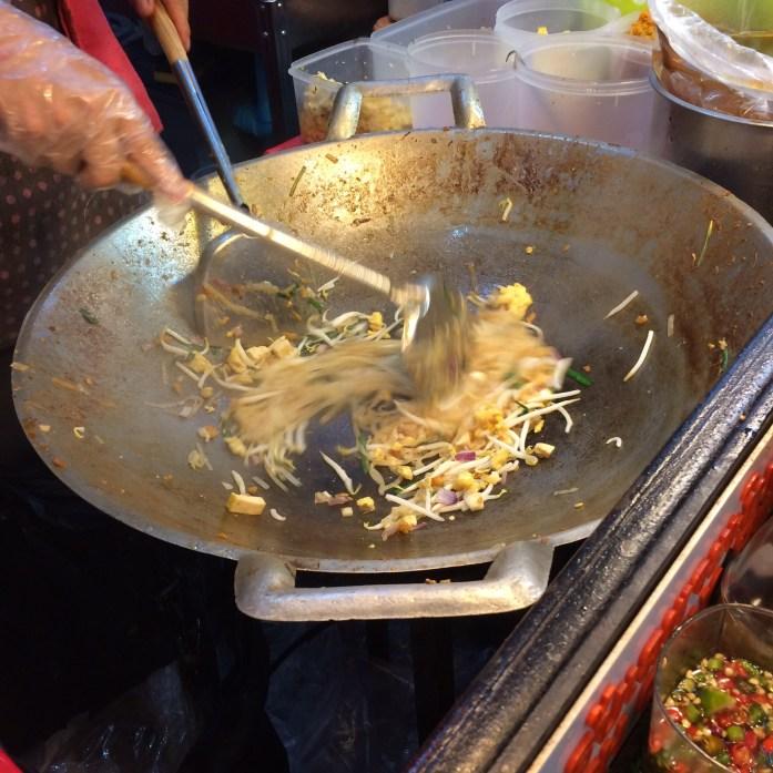 Pad Thai, Kalare Food & Shopping Centre, Chiang Mai, Thailand