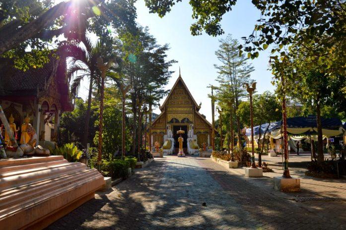 Temple in Chiang Rai, Thailand