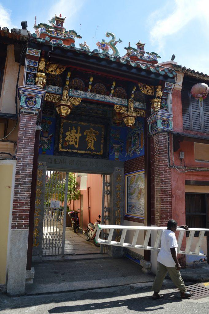 Temple in George Town, Malaysia