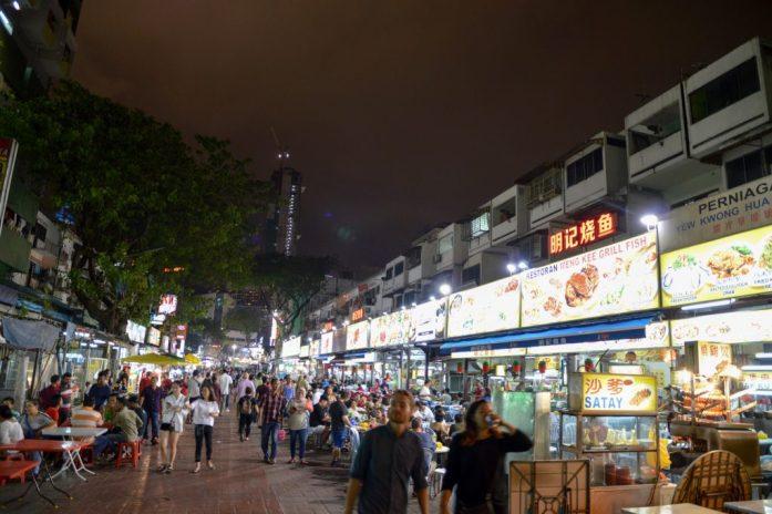 Jalan Alor Night Food Court, Kuala Lumpur, Malaysia