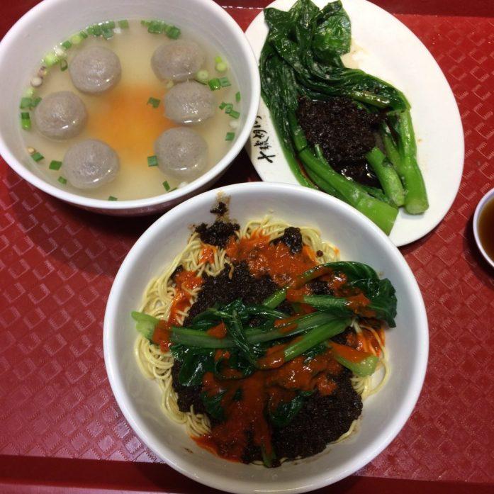 Soong Kee Beef Noodle set, Lot 10 Hutong, Kuala Lumpur, Malaysia