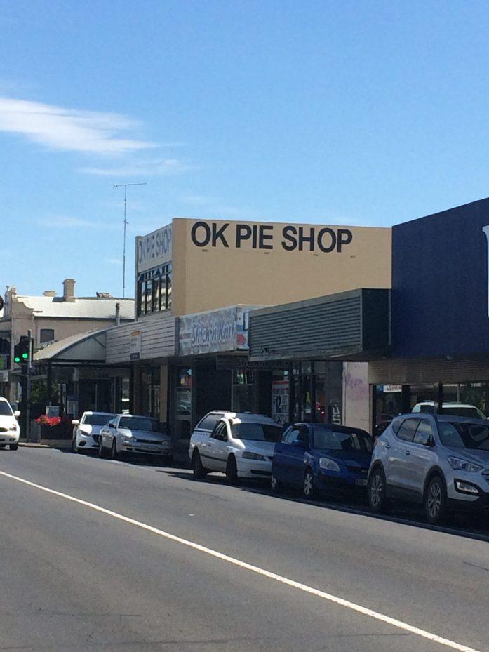 OK Pie Shop, Mount Gambier, Australia