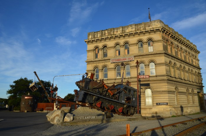 Steampunk HQ, Oamaru, New Zealand