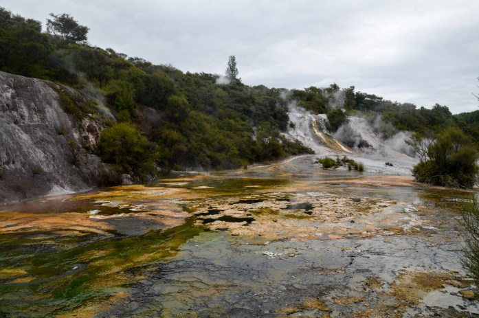 Orakei Korako Geothermal Park & Cave, North Island, New Zealand