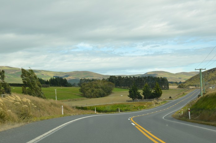 Driving from Dunedin to Te Anau, New Zealand