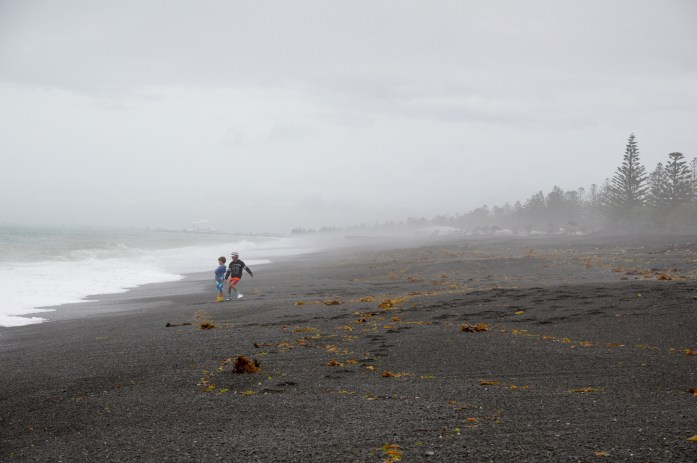 Beach in Napier, New Zealand