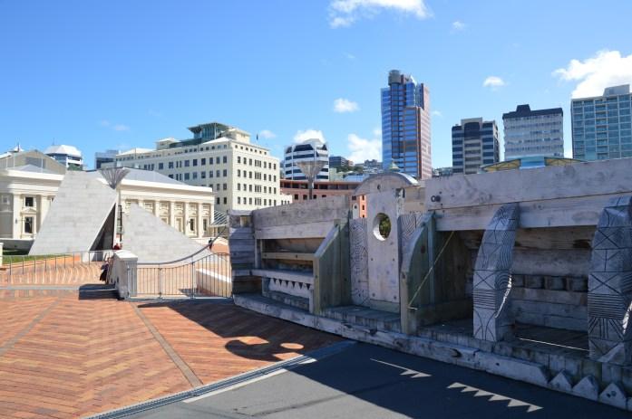 City to Sea Bridge, Wellington, New Zealand