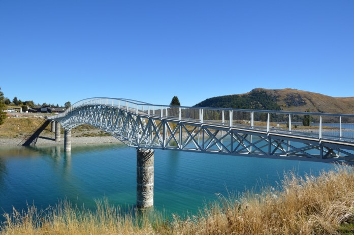 Lake Tekapo bridge, New Zealand