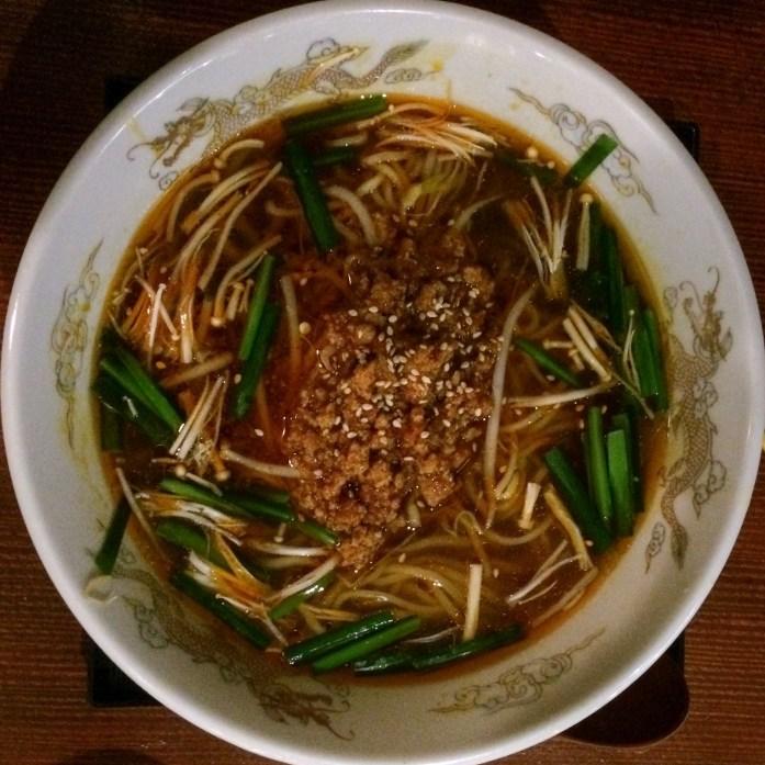 Spicy ramen from Hokkaido, Sydney, Australia