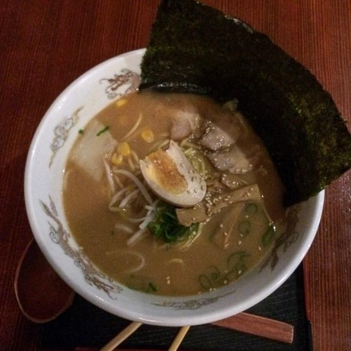 Miso ramen from Hokkaido, Sydney, Australia