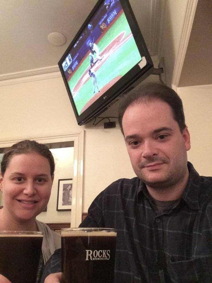 Drinking Rocks Brewing Company beers, Harts Pub, Sydney, Australia